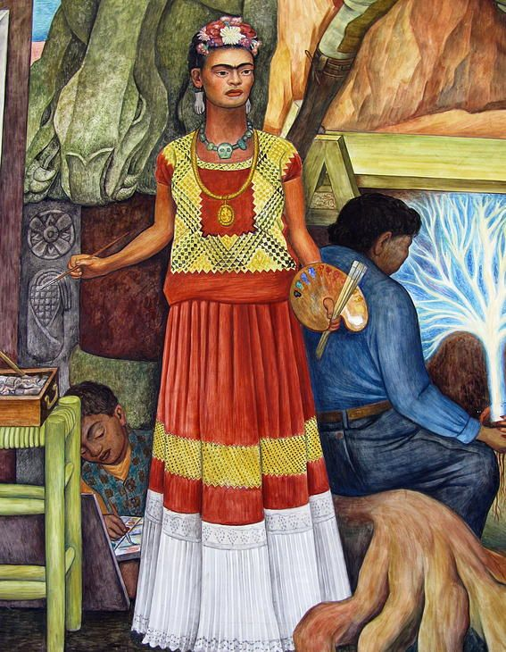 San Francisco Mural Arts | Diego Rivera | UntitledLocation: City College, Crocker Amazon