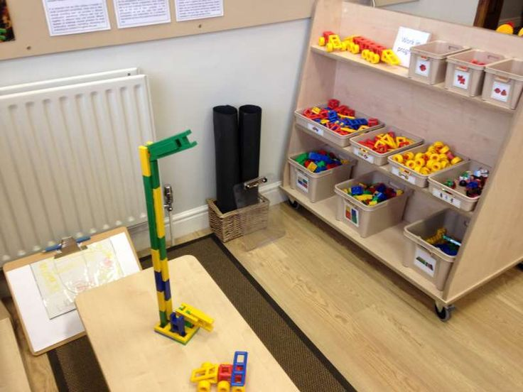 Small Construction Area With Saving Shelf For Models At