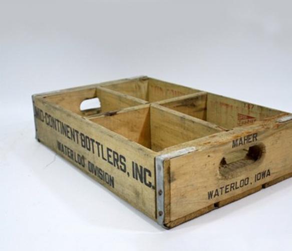 Vintage Pop Crate