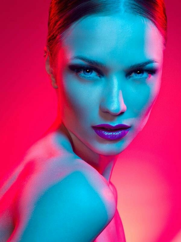 Colorful Beauty Portrait by David Benoliel Photography