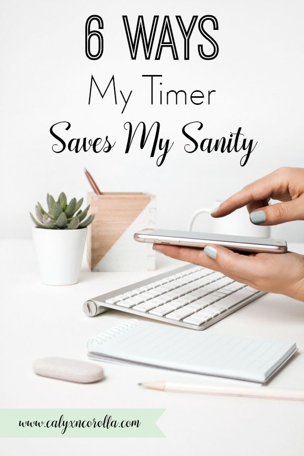6 Ways My Timer Saves My Sanity (and a FREE Printable | Productivity
