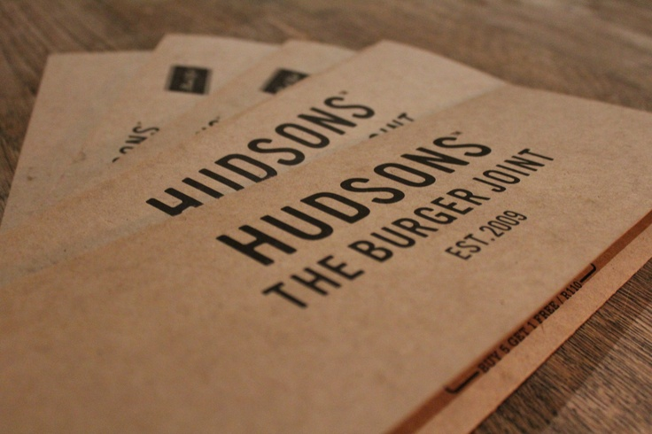 Hudsons Burger Joint menu... you might really want to have a look at what it offers ;)