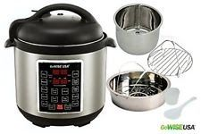 Programmable 10 in1 Multi Use Slow Cooker Pressure Instant Pot Ultra 6 Qt Silver