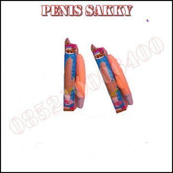 Penis Sakky merupakan Dildo Getar Kecil Bercabang Untuk alat masturbasi Wanita Dengan harga Murah dan sangat digemari oleh wanita Asia.
