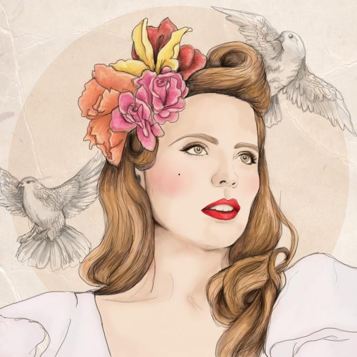 Paloma Faith Illustration - By Paige Joanna