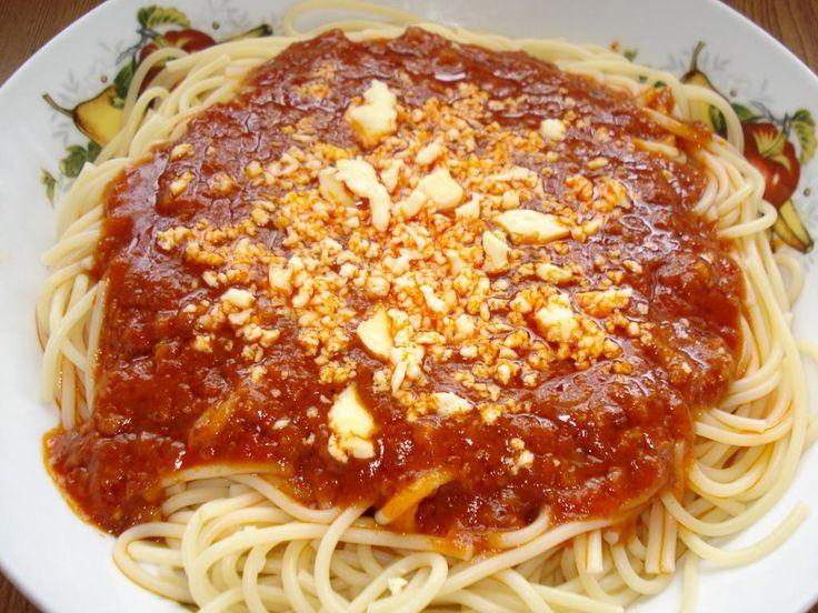 Spaghetti filipino recipe