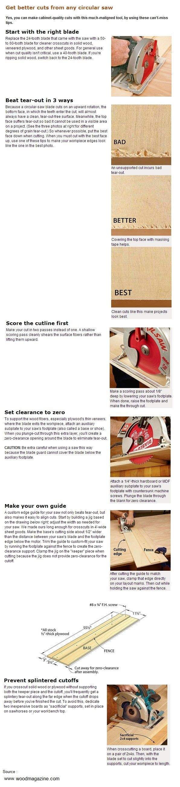 25 Best Tips Images By David Rath On Pinterest Carpentry Tools Seeking Advice For A Three Way Electrical Wiring Forum Gardenweb Get Better Cuts From Any Circular Saw