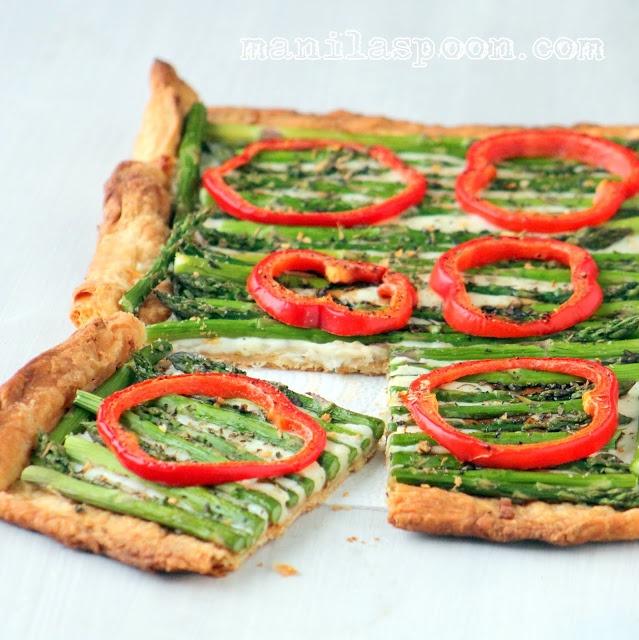 Manila Spoon: Asparagus Gruyere Tart   Recipes I Like...   Pinterest