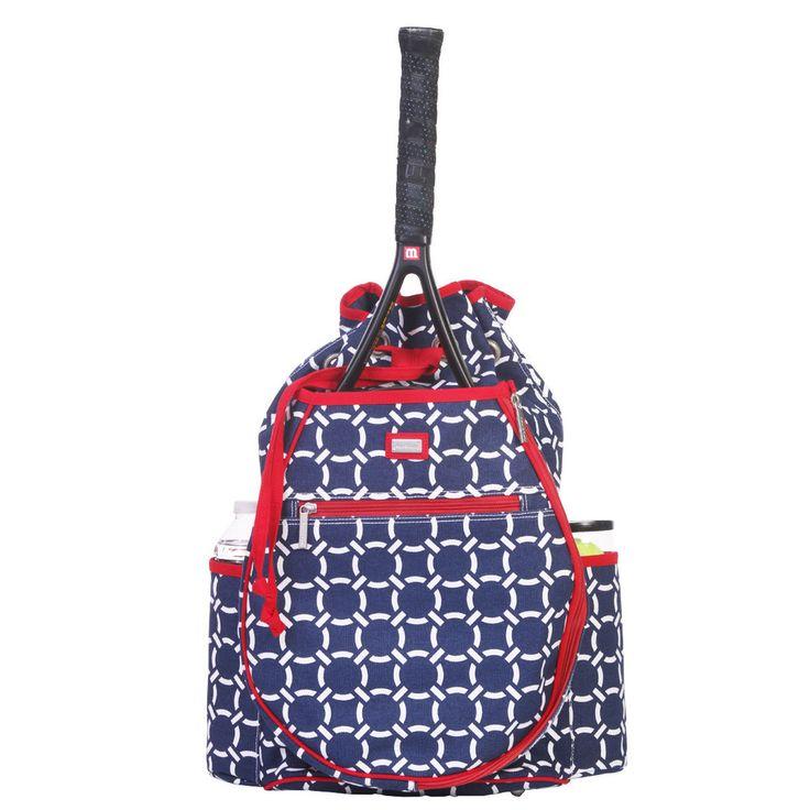Ame & Lulu Ladies Tennis Backpacks - CRU - nicolestennisboutique.com