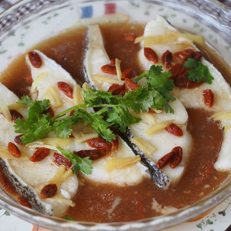 iCookiBakeiShoot: Steamed Cod Fish with Essence of Chicken