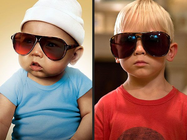 """the same kid playing Carlos/Tyler, the baby from """"The Hangover"""" -- then and now"""