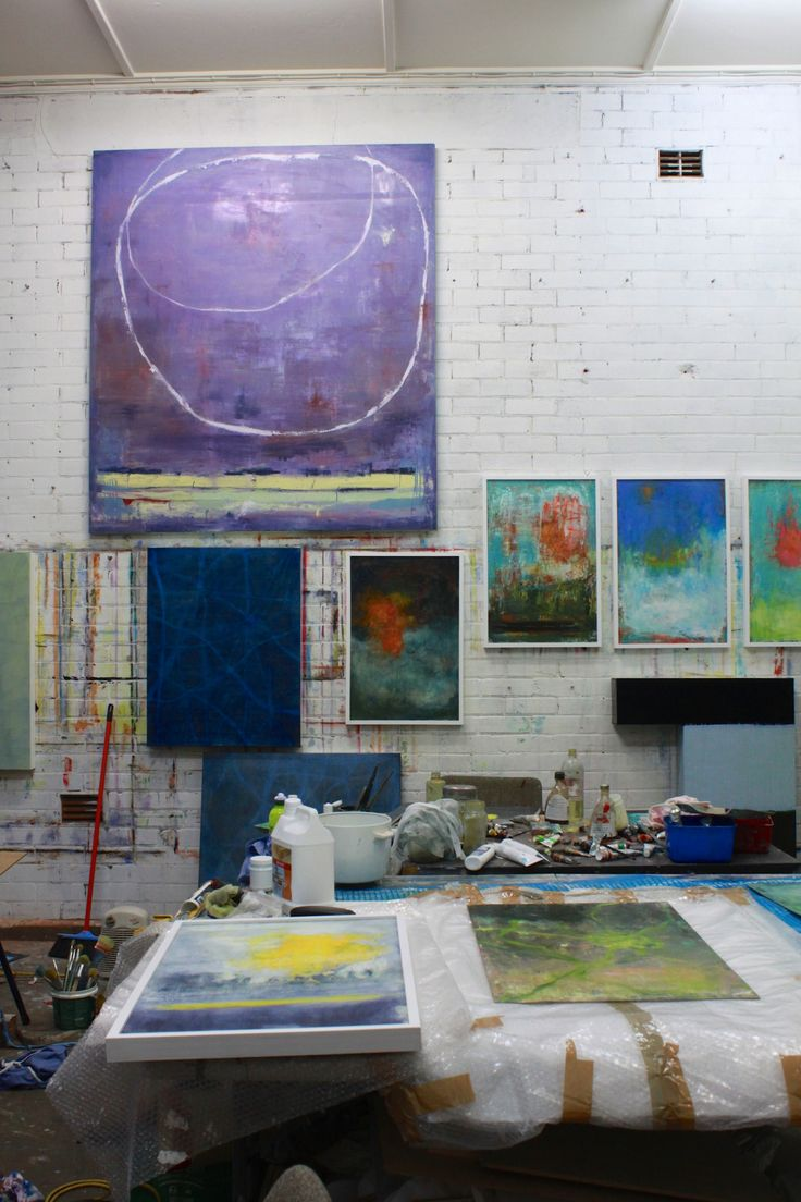Annemarie Murland's studio. The Novocastrian Files. Photo - Siobhan Curran.
