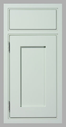 Inset Cabinet Beaded Face Frame Recessed Flat Panel With