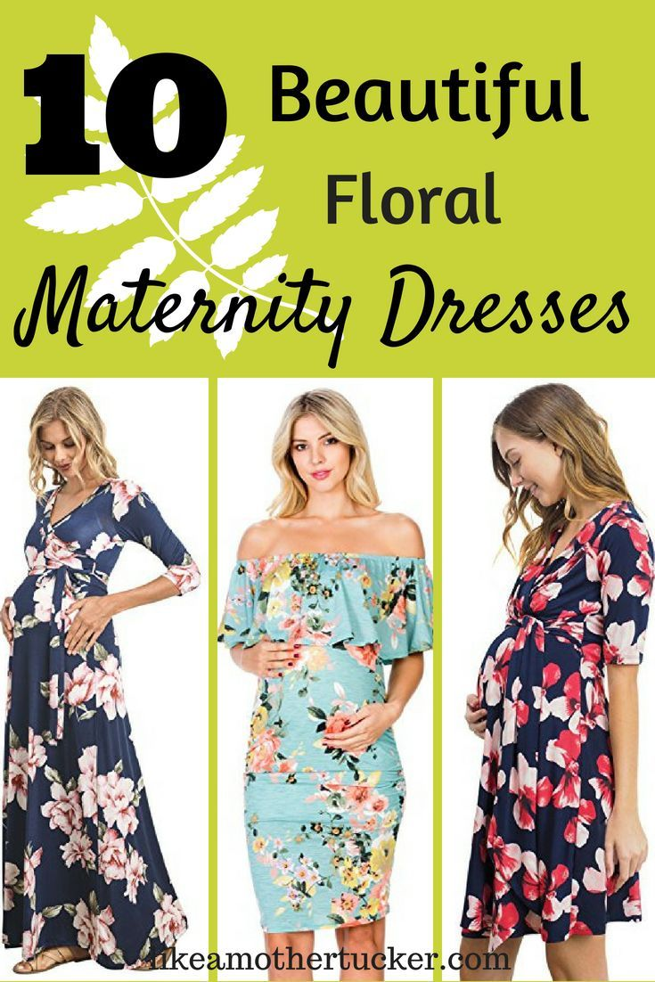 e9211c7e69b 10 floral maternity dresses rated four stars or higher on Amazon. Great maternity  dresses for a summer pregnancy. Perfect way to round out your summer ...