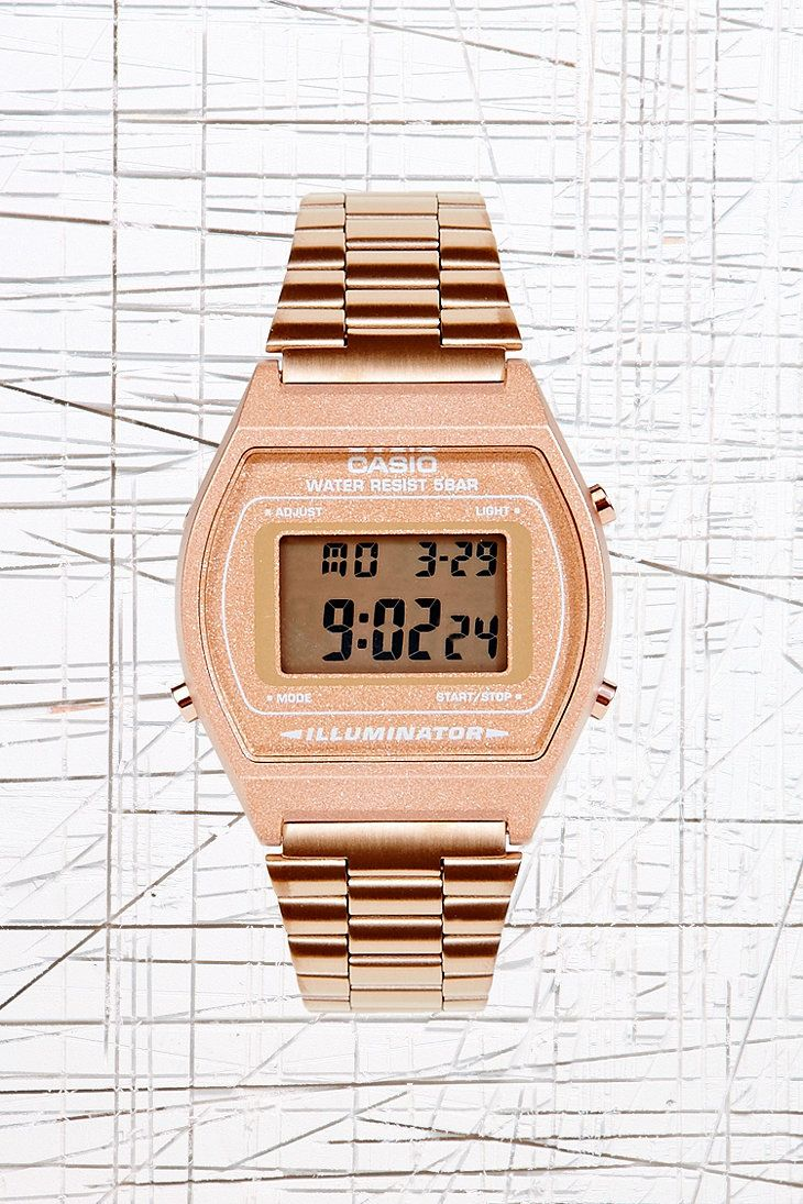 Casio Digital Watch in Bronze http://www.dailymotion.com/video/x266yck_tough-durable-best-outdoor-watches-casio-g-shock-watches-men-women_tech