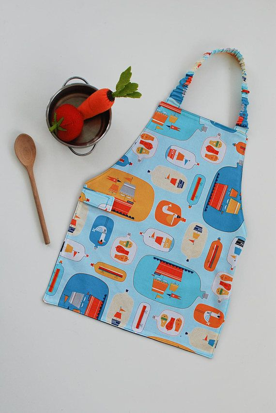 Child's Apron 3-5 years Children's Apron Montessori