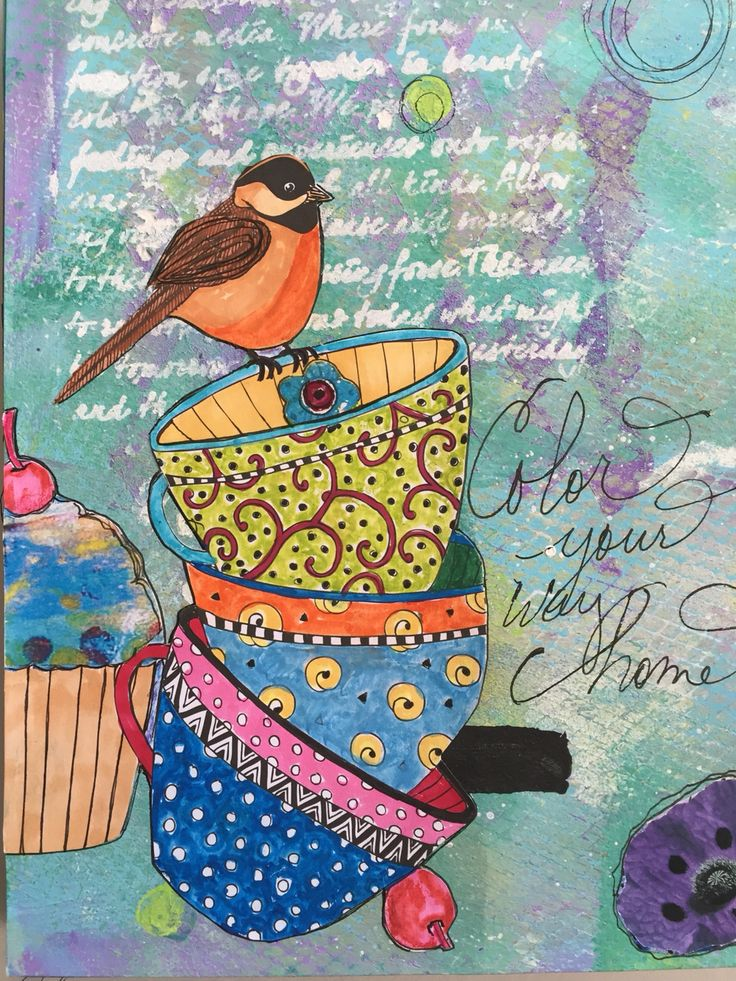 Back cover of Coloring Journal by Kim Collister
