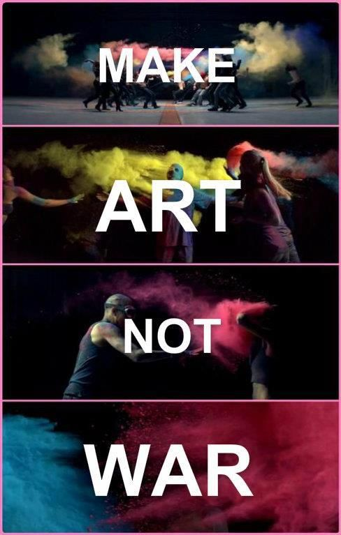 "Make Art Not War - Thirty Seconds To Mars ""Up In The Air"""