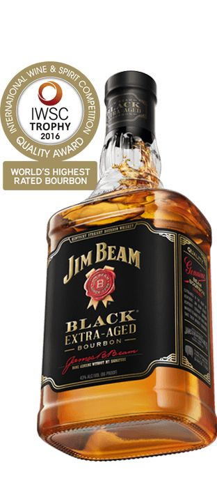 Be inspired by a full bodied flavor with soft caramel and warm oak notes. Enjoy Jim Beam Black® extra aged bourbon.