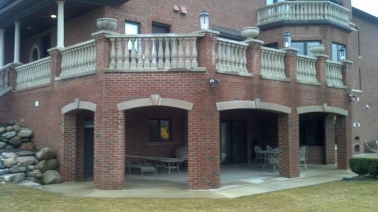 Pin By Michigan S Best Deck Builders On Brick Columns And