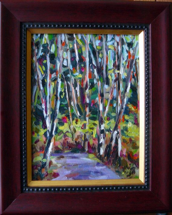 SALE 20% OFF List Price  Silver birch III framed by ArtsAnita