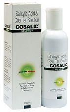 Ácido salicílico 200ML & solución de alquitrán de hulla