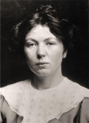 Christabel Pankhurst, circa 1900