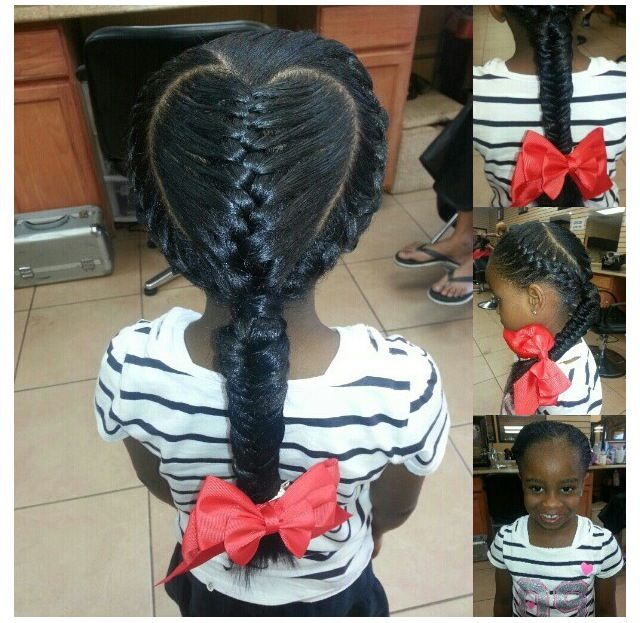 cute braided hairstyles for natural hair : Cute little black girl hairstyles. This is too cute. i love it