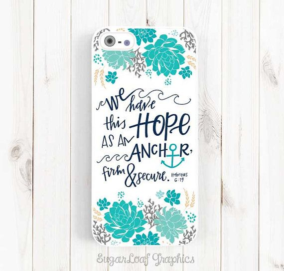 Bible Verse Quote iPhone Case We have this by SugarloafGraphics