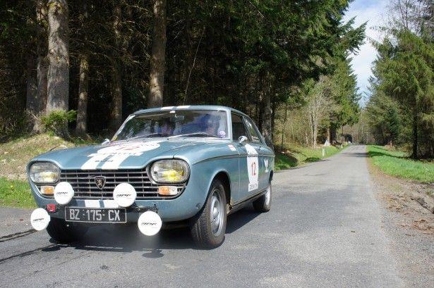 CARS - Tour Auto : la seconde jeunesse de la Peugeot 204 Coupé en Auvergne... - http://lesvoitures.fr/tour-auto-la-seconde-jeunesse-de-la-peugeot-204-coupe-en-auvergne/