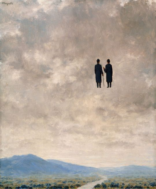 "Art Pics Channel on Twitter: ""René Magritte The Art of Conversation 1963 https://t.co/fUwBXK28jP"""
