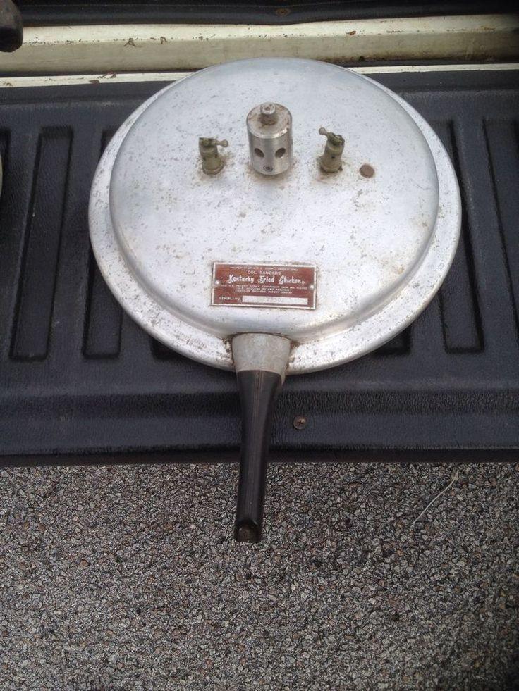 1954 kentucky fried chicken col. sanders pressure cooker ...