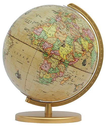 Globe Terrestre Renaissance de Columbus.
