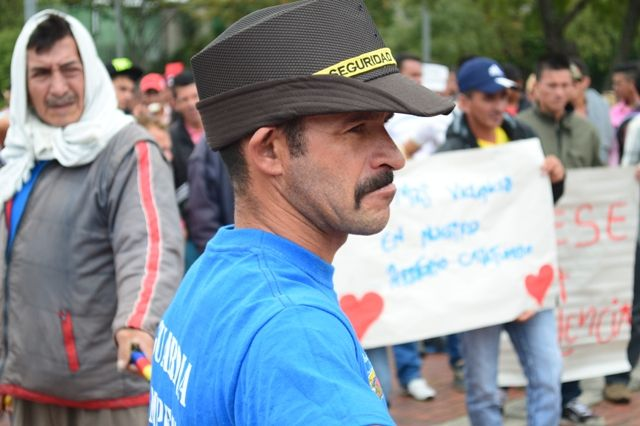 29 de mayo, marcha por las víctimas. Guardia campesina.
