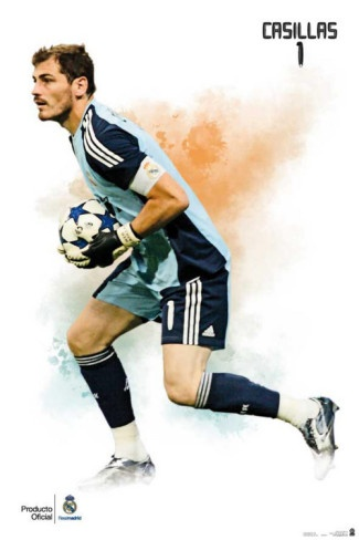 Real Madrid- Iker Casillas Sports Poster Photo from AllPosters.com