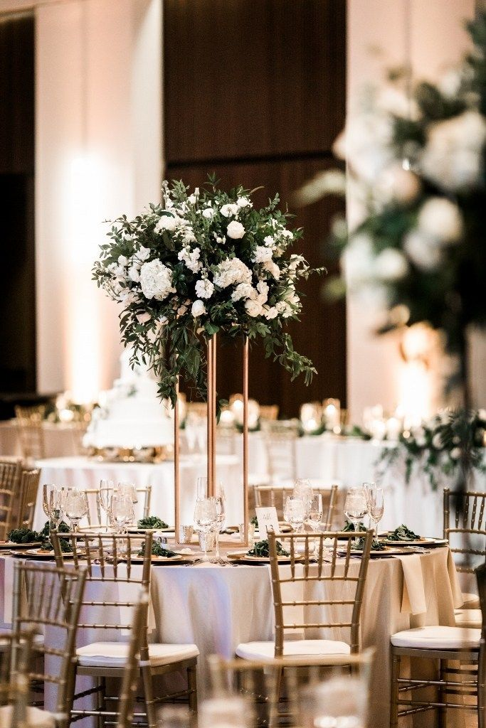 Winter White Wedding Country Music Hall Of Fame Wedding Floral