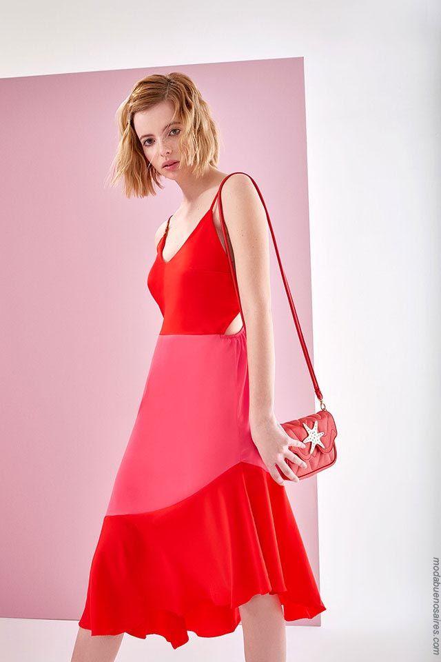 Coleccion de vestidos primavera verano 2019