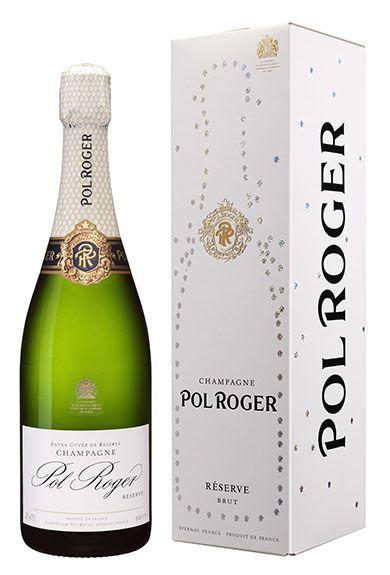 Pol Roger Brut Reserve Non-Vintage – Pol Roger Champagne