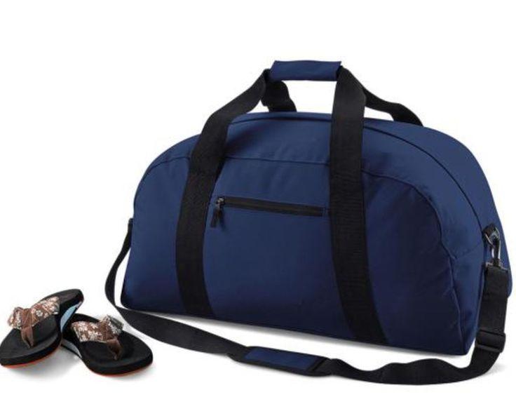 BagBase Borsa uomo donna borsone weekend poliestere impermeabile nera blu rossa