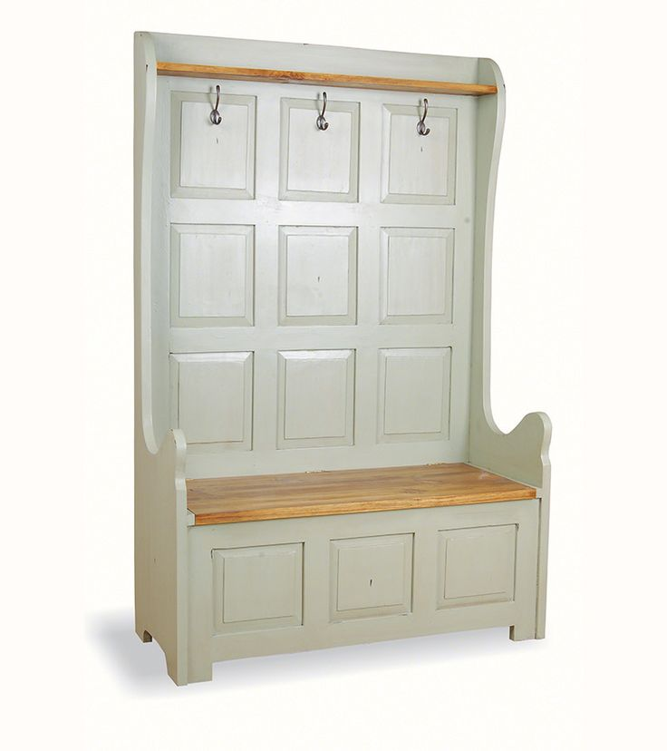 Hall Stand Three Seat Monks Bench – Onske