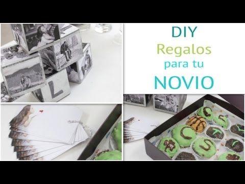 ▶ DIY - Regalos para tu NOVIO - YouTube
