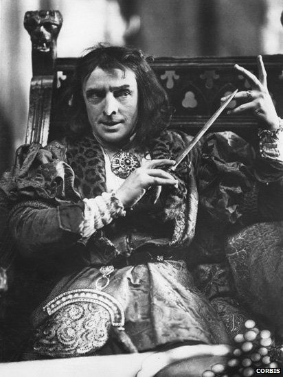 Sir John Martin-Harvey as Shakespeare's Richard III. Was Richard III really a mongrel as portrayed by Shakespeare?