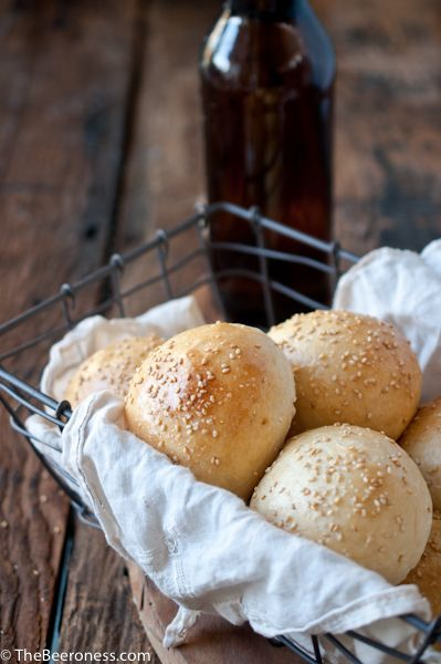 Homemade Beer Burger Buns. Easier than you think and a thousand times better than store bought