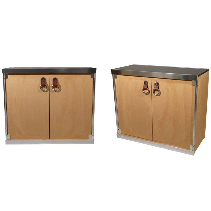 Pair Of Cabinets Designed By Guido Faleschini