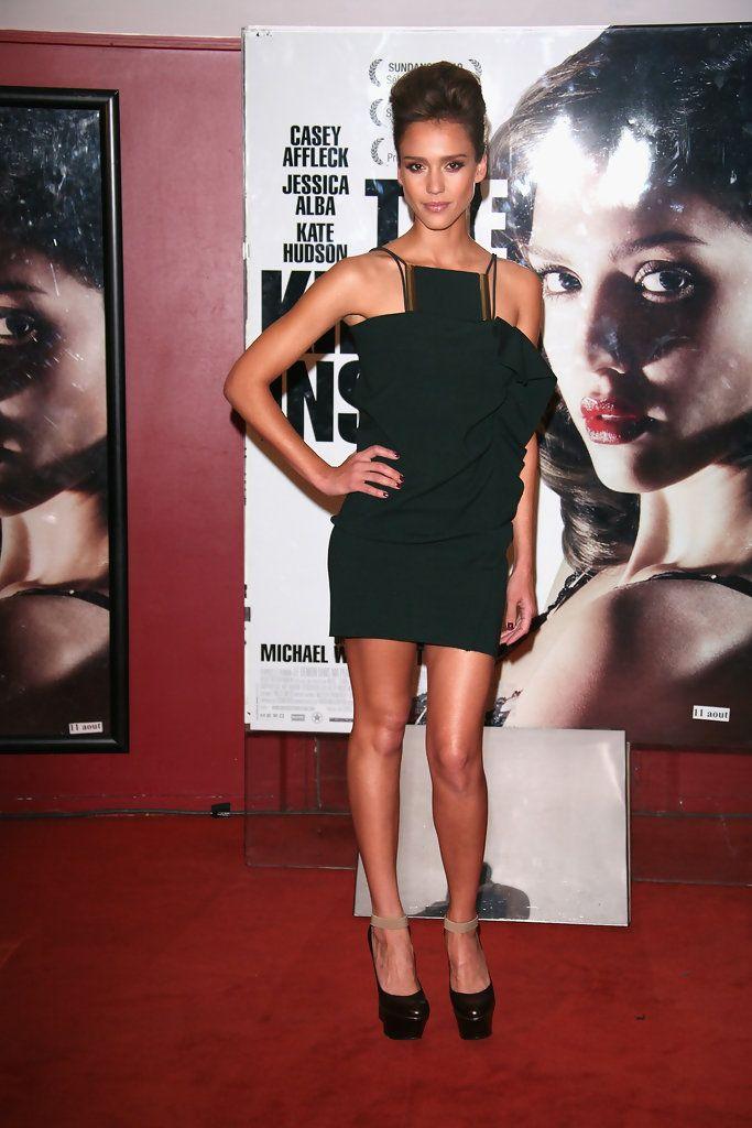 Jessica Alba Photos - 'The Killer Inside Me' Paris Premiere - Zimbio