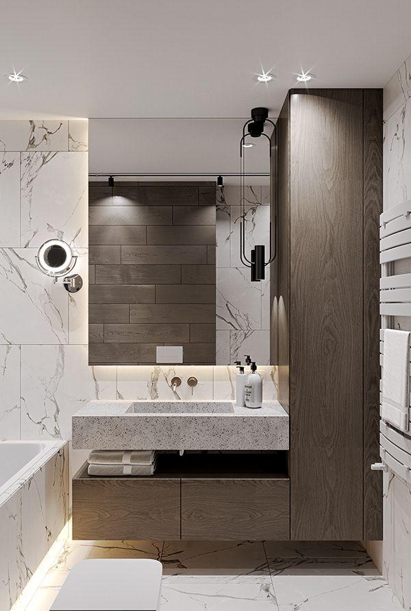 Desert Mood Apartment Dezign Ark Beta In 2020 Bathroom Interior Design Small Bathroom Layout Bathroom Interior