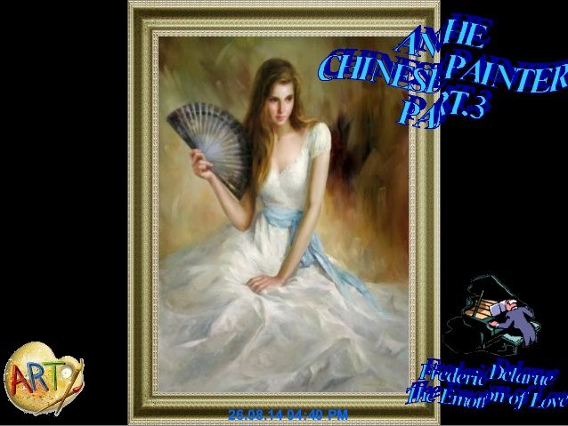AN HE – 1957-CHINESE PAINTER-PART 3- A C- by ADRIANA CIOBANU via slideshare