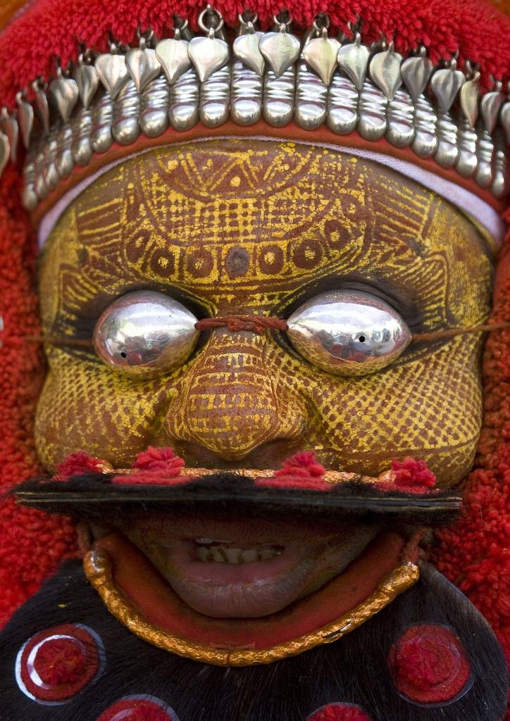 Eric Lafforgue Muthappan Theyyam as Lord Shiva