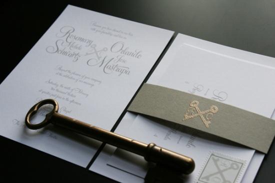 Key Themed Wedding Invitations: 17 Best Images About Key Wedding Invitation On Pinterest