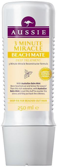 Pin for Later: The Nourishing Treatments That'll Change Your Hair Forever Aussie 3 Minute Miracle Beach Mate